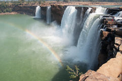Chitrakote-Wasserfälle Stockfotos