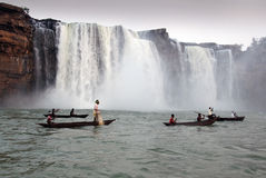 Chitrakote Waterfalls Royalty Free Stock Images