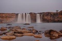 Chitrakote waterfalls in Bastar Stock Image