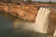 Chitrakote waterfalls top view Royalty Free Stock Photography