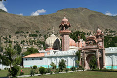 Chitral Mosque stock photo