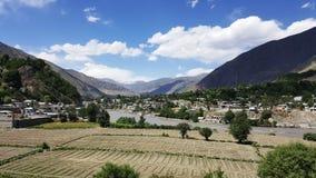 Chitral Paquistán Foto de archivo