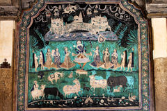 Chitrasala, Bundi, Rajasthan - Obrazy Stock