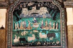 Chitrasala - Bundi - Rajasthan Stock Afbeeldingen
