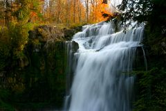Chittenango Falls Stock Photo