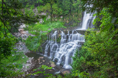 Chittenango Falls in New York Royalty Free Stock Photo