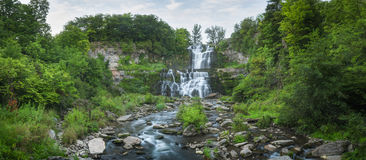 Chittenango Falls Panorama Stock Photo
