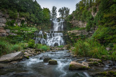 Chittenango Falls in Upstate New York Royalty Free Stock Image