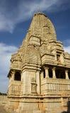 chittor印地安人寺庙 库存图片