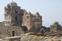 Chittorgarh an ancient fort in India Royalty Free Stock Image