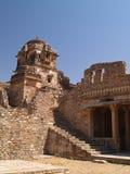 Chittorgarh Citadel Ruins In Rajasthan, India Stock Photo