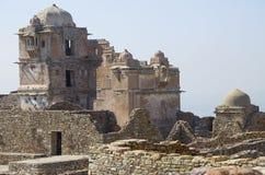 Chittorgarh ein altes Fort in Indien Lizenzfreies Stockbild