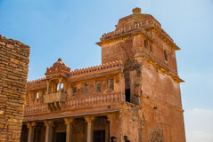 Chittorgarh Fort, Rajasthan, India. Stock Photography