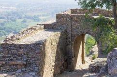 Chittorgarh oud fort in de poort van India stock foto's