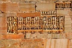 chittorgarhcitadeldetalj india Arkivbild