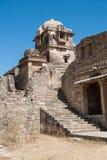 Chittorgarhfort, grootste fort in India Stock Afbeeldingen