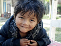 chitwan μικρός αγοριών στοκ φωτογραφία