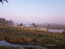 Chitwan NP in the morning Royalty Free Stock Photos