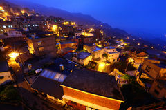 Chiu fen village, in Taiwan Royalty Free Stock Photos