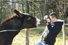 Chiuda gli incontri Fotografia Stock