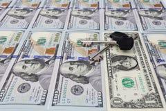Chiuda la finanza a chiave Fotografia Stock Libera da Diritti