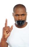 Chiuda la vostra bocca Immagini Stock Libere da Diritti