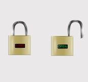 Chiuda le icone a chiave Fotografia Stock Libera da Diritti