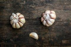 Chiuda su aglio Fotografia Stock