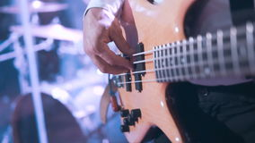 Chiuda su Bass Guitarist archivi video