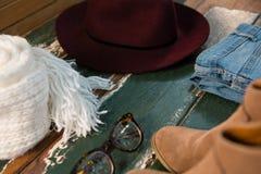 Chiuda su degli accessori personali Fotografia Stock Libera da Diritti