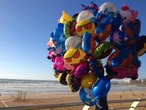 Chiuda su dei baloons variopinti Fotografie Stock