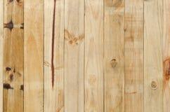 Chiuda in su dei comitati di legno grigi della rete fissa Fotografie Stock