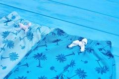 Chiuda su dei pantaloni d'avanguardia del bambino di colore Fotografia Stock Libera da Diritti