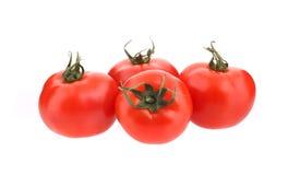 Chiuda su dei pomodori freschi Immagini Stock Libere da Diritti