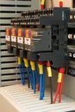 Componente elettrica industriale immagini stock libere da diritti