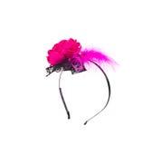Chiuda su del cerchio con i fiori Immagine Stock