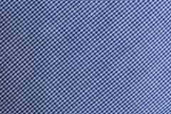 Fondo blu del tessuto Immagini Stock