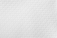Fondo grafico bianco del tessuto Fotografia Stock Libera da Diritti