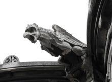 Chiuda in su del Gargoyle del Sacre-Coeur Immagini Stock Libere da Diritti