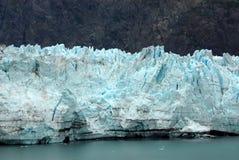 Chiuda in su del ghiacciaio di Margerie, la baia di ghiacciaio, Alaska Immagini Stock Libere da Diritti