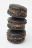 Chiuda su del maccherone nero saporito Fotografie Stock Libere da Diritti