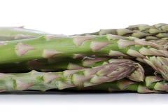 Chiuda su del mazzo di asparago Fotografia Stock