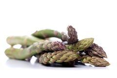 Chiuda su del mazzo di asparago Fotografie Stock Libere da Diritti