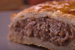 Fine del patè della carne su Immagine Stock Libera da Diritti