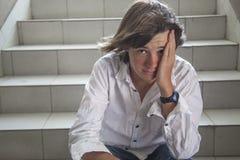 Chiuda su del ragazzo teenager Immagine Stock Libera da Diritti