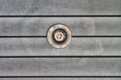 Chiuda su del soffitto della giù-luce Fotografia Stock