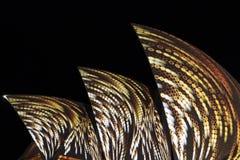 Chiuda in su del Teatro dell'Opera di Sydney Fotografia Stock Libera da Diritti
