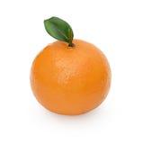 Chiuda su dell'arancia artificiale Fotografie Stock Libere da Diritti