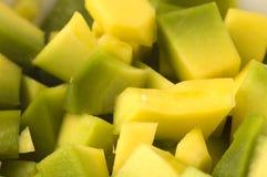 Chiuda in su dell'avocado fotografia stock libera da diritti