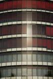 Chiuda in su dell'edificio per uffici Fotografia Stock Libera da Diritti